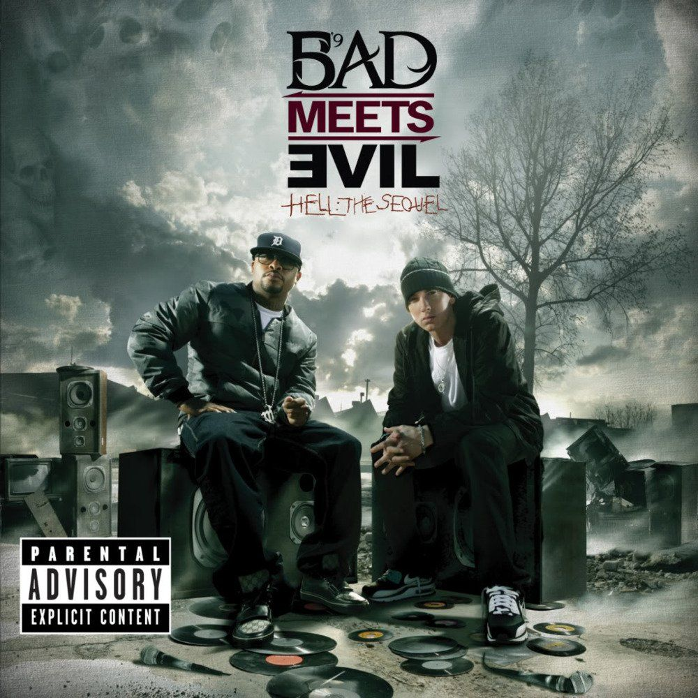 "Album cover of ""Bad Meets Evil - Hell: The Sequel"""