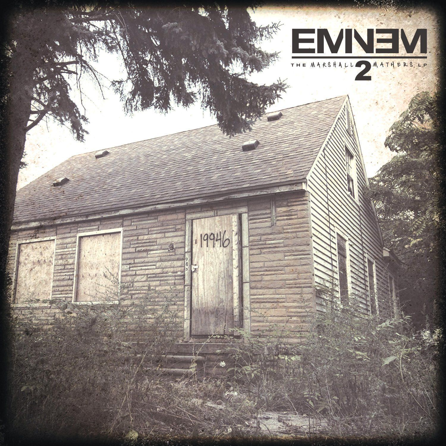"Album cover of ""Eminem - The Marshall Mathers LP2"""