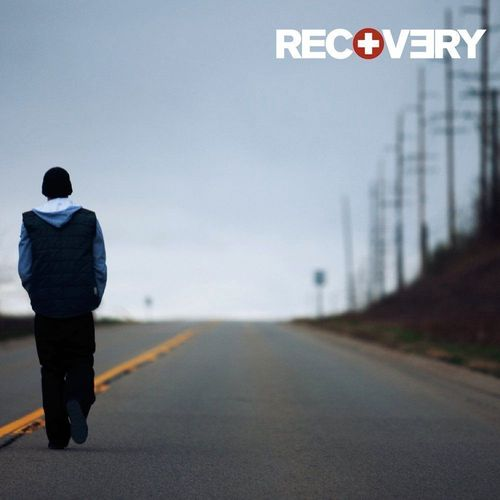 "Album cover of ""Eminem - Recovery"""