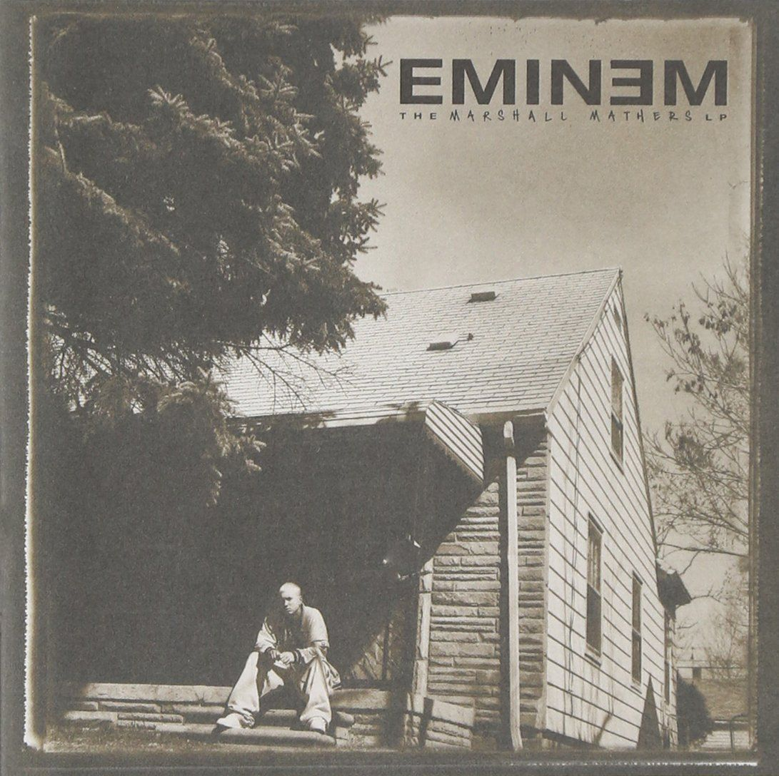 "Album cover of ""Eminem - The Marshall Mathers LP"""