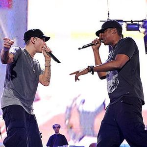 Eminem and Jay Z Live at Comerica Park