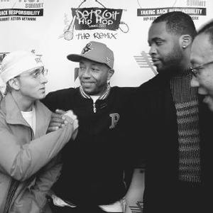 Eminem, Nas and Common at The Hip hop Summit