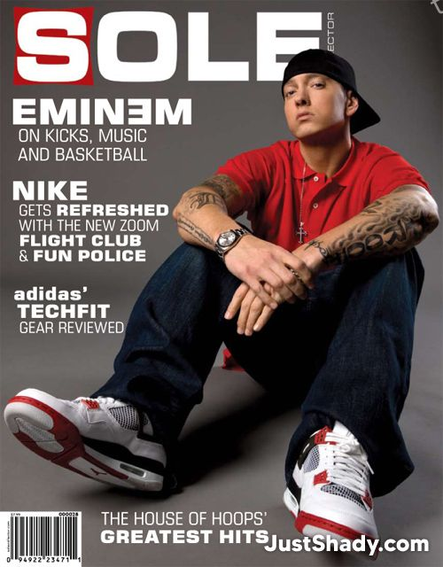 Cover of Sole Magazine with Eminem